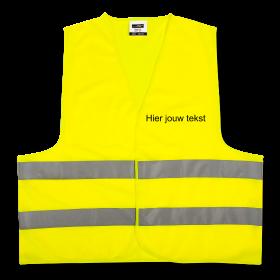 geel veiligheidsvest